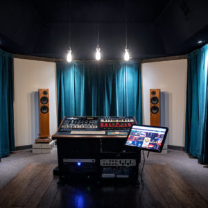 Knack Mastering Room Front