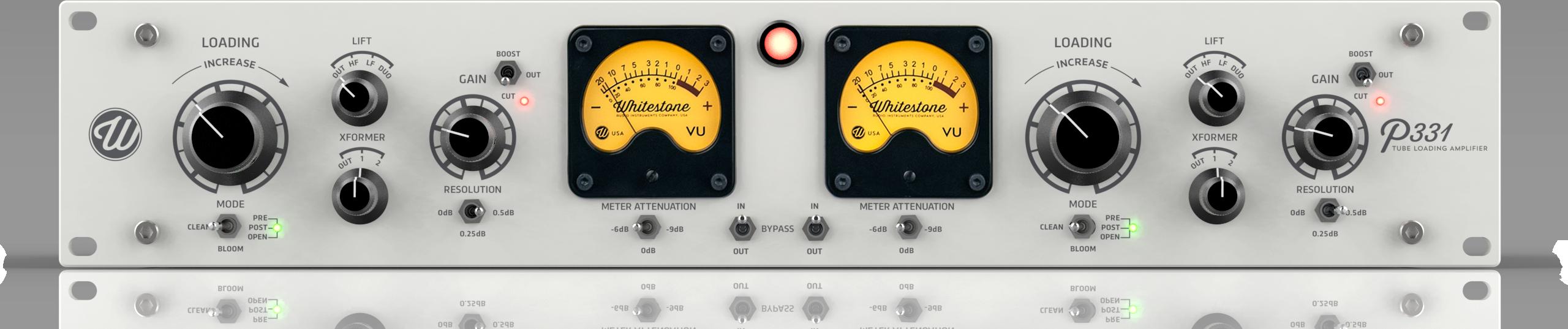 Whitestone® Audio P331 Tube Loading Amplifier